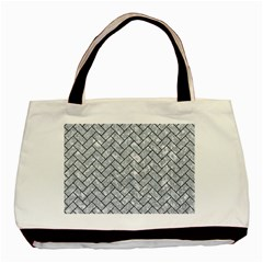 BRK2 BK-GY MARBLE (R) Basic Tote Bag (Two Sides) by trendistuff