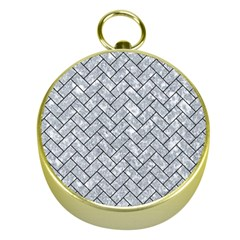 BRK2 BK-GY MARBLE (R) Gold Compasses by trendistuff