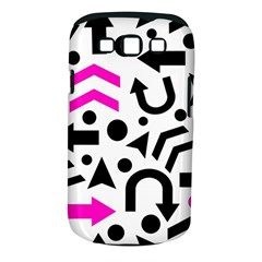 Magenta Right Direction Samsung Galaxy S Iii Classic Hardshell Case (pc+silicone) by Valentinaart