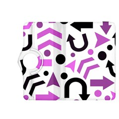 Magenta direction pattern Kindle Fire HDX 8.9  Flip 360 Case by Valentinaart
