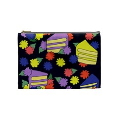 Cake Lover Cosmetic Bag (medium)  by BubbSnugg