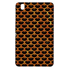 Scales3 Black Marble & Orange Marble Samsung Galaxy Tab Pro 8 4 Hardshell Case by trendistuff