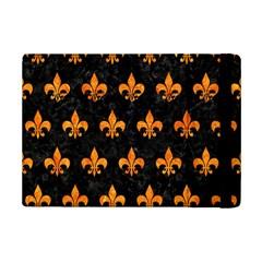Royal1 Black Marble & Orange Marble (r) Apple Ipad Mini 2 Flip Case by trendistuff