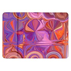 Candy Abstract Pink, Purple, Orange Samsung Galaxy Tab 8 9  P7300 Flip Case by theunrulyartist