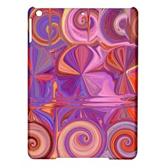 Candy Abstract Pink, Purple, Orange Ipad Air Hardshell Cases by theunrulyartist