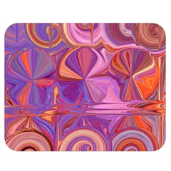 Candy Abstract Pink, Purple, Orange Double Sided Flano Blanket (medium)  by theunrulyartist