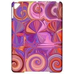 Candy Abstract Pink, Purple, Orange Apple Ipad Pro 9 7   Hardshell Case by theunrulyartist