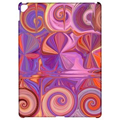 Candy Abstract Pink, Purple, Orange Apple Ipad Pro 12 9   Hardshell Case by theunrulyartist