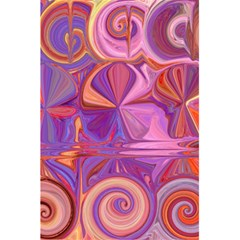 Candy Abstract Pink, Purple, Orange 5 5  X 8 5  Notebooks by theunrulyartist