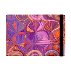 Candy Abstract Pink, Purple, Orange Ipad Mini 2 Flip Cases by theunrulyartist