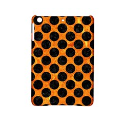 Circles2 Black Marble & Orange Marble (r) Apple Ipad Mini 2 Hardshell Case by trendistuff