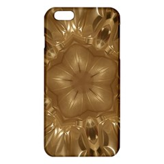 Elegant Gold Brown Kaleidoscope Star Iphone 6 Plus/6s Plus Tpu Case by yoursparklingshop