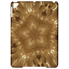 Elegant Gold Brown Kaleidoscope Star Apple Ipad Pro 9 7   Hardshell Case by yoursparklingshop