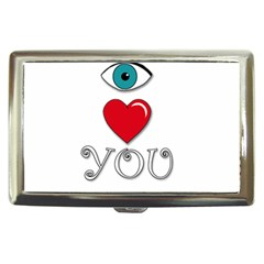 I Love You Cigarette Money Cases by Valentinaart