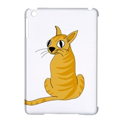 Yellow Cat Apple Ipad Mini Hardshell Case (compatible With Smart Cover) by Valentinaart