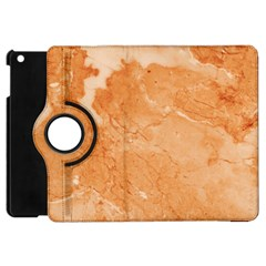 Rose Gold Marble Stone Print Apple Ipad Mini Flip 360 Case by Dushan