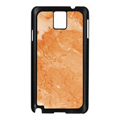 Rose Gold Marble Stone Print Samsung Galaxy Note 3 N9005 Case (black) by Dushan