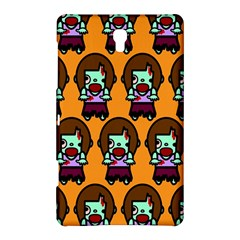 Zombie Woman Fill Orange Samsung Galaxy Tab S (8 4 ) Hardshell Case  by AnjaniArt