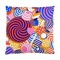 Canddy Color Standard Cushion Case (Two Sides) by AnjaniArt