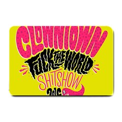 Clowntown Small Doormat  by AnjaniArt
