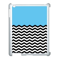 Color Block Jpeg Apple Ipad 3/4 Case (white) by AnjaniArt