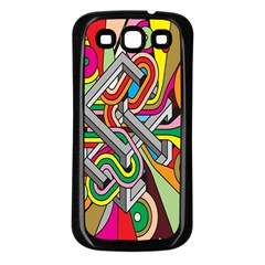 Code Samsung Galaxy S3 Back Case (black) by AnjaniArt