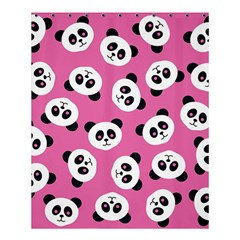 Cute Panda Pink Shower Curtain 60  X 72  (medium)  by AnjaniArt