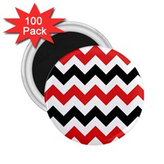 Colored Chevron Printable 2 25  Magnets (100 Pack)  by AnjaniArt