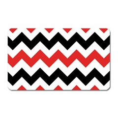 Colored Chevron Printable Magnet (rectangular) by AnjaniArt