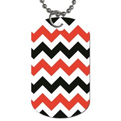 Colored Chevron Printable Dog Tag (one Side) by AnjaniArt