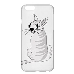 White Cat  Apple Iphone 6 Plus/6s Plus Hardshell Case by Valentinaart