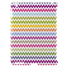 Color Full Chevron Apple Ipad 3/4 Hardshell Case (compatible With Smart Cover) by AnjaniArt
