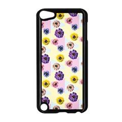 Monster Eye Flower Apple Ipod Touch 5 Case (black) by AnjaniArt