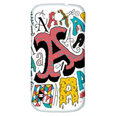 Teks As Samsung Galaxy S3 S Iii Classic Hardshell Back Case by AnjaniArt