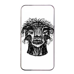 Fantasy Monster Head Drawing Apple Iphone 4/4s Seamless Case (black) by dflcprints