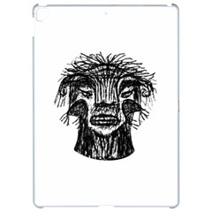 Fantasy Monster Head Drawing Apple iPad Pro 12.9   Hardshell Case by dflcprints