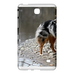 Australian Shepherd Blue Merle Full Samsung Galaxy Tab 4 (8 ) Hardshell Case  by TailWags