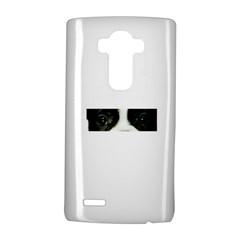French Bulldog Brindle And White Eyes LG G4 Hardshell Case by TailWags