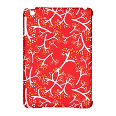 Small Flowers Pattern Apple iPad Mini Hardshell Case (Compatible with Smart Cover) by Zeze