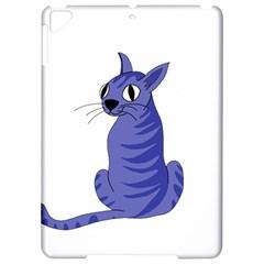 Blue Cat Apple Ipad Pro 9 7   Hardshell Case by Valentinaart