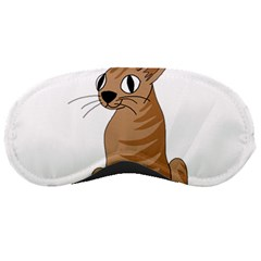 Brown Cat Sleeping Masks by Valentinaart