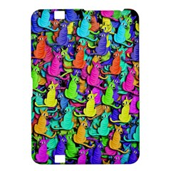 Colorful Cats Kindle Fire Hd 8 9  by Valentinaart