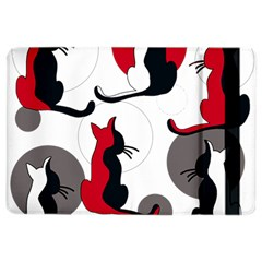 Elegant Abstract Cats  Ipad Air 2 Flip by Valentinaart