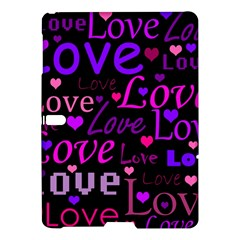 Love pattern 2 Samsung Galaxy Tab S (10.5 ) Hardshell Case  by Valentinaart