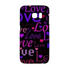 Love pattern 2 Galaxy S6 Edge by Valentinaart