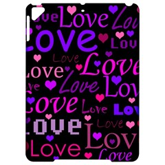 Love Pattern 2 Apple Ipad Pro 9 7   Hardshell Case by Valentinaart
