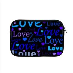 Blue love pattern Apple MacBook Pro 15  Zipper Case