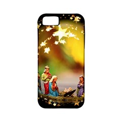 Christmas Crib Virgin Mary Joseph Jesus Christ Three Kings Baby Infant Jesus 4000 Apple Iphone 5 Classic Hardshell Case (pc+silicone) by yoursparklingshop