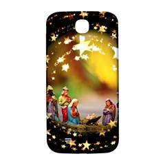 Christmas Crib Virgin Mary Joseph Jesus Christ Three Kings Baby Infant Jesus 4000 Samsung Galaxy S4 I9500/i9505  Hardshell Back Case by yoursparklingshop