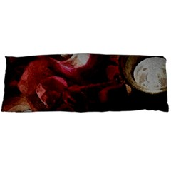 Dark Red Candlelight Candles Body Pillow Case (dakimakura) by yoursparklingshop